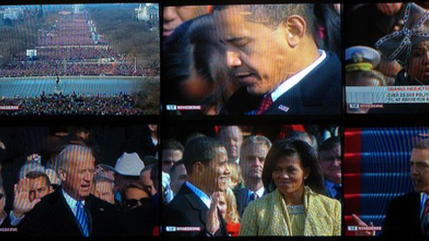 The inauguration of President Barack Obama as seen from Denmark by whatisname.
