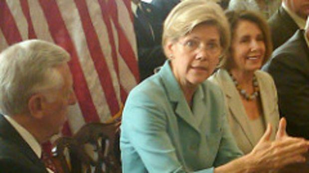 Elizabeth Warren and Leader Pelosi
