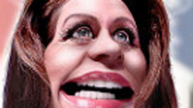 Michele Bachmann - Caricature