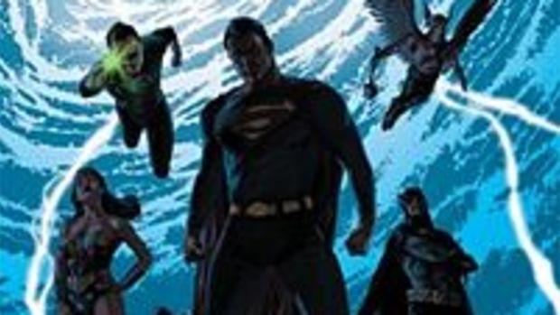 Teaser poster for Final Crisis