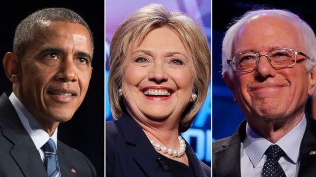 President Obama, Hillary Clinton, Bernie Sanders Unite.jpg