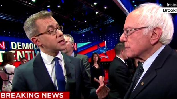 Bernie Sanders Jeff Zeleny