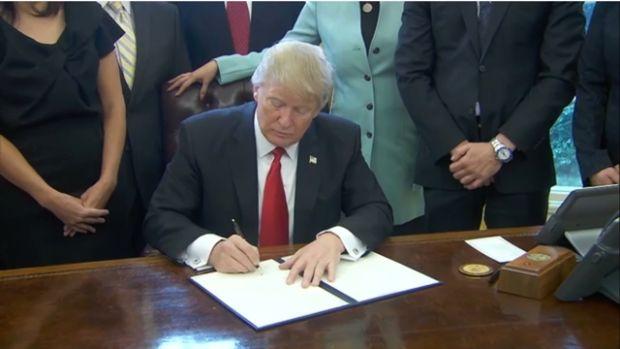 Trump Signing EO