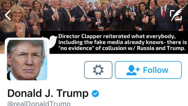 Donald Trump Twitter Profile Sally Yates