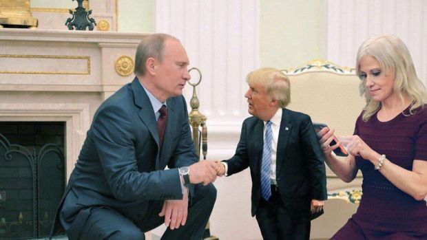 Tiny Trump Putin