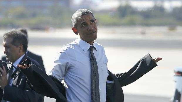 Obama Shrug