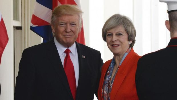 Watch-live-Theresa-May-Donald-Trump-hold-press-conference