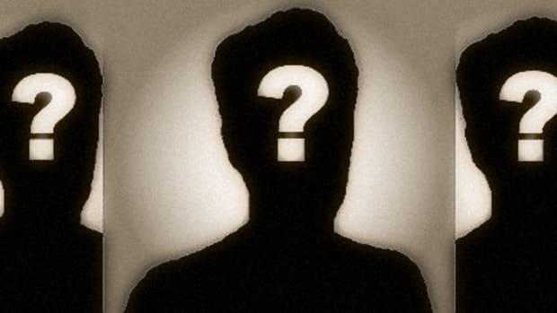 Anonymous question marks