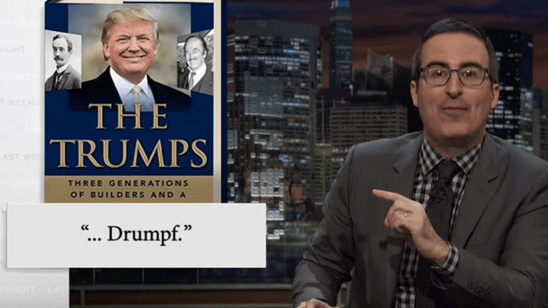 Watch John Oliver Literally Decapitate Donald Trump in Truly Epic Takedown