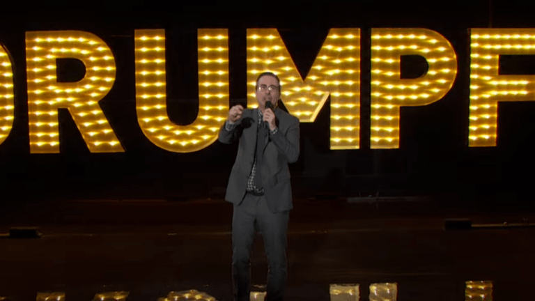 "With His Instantly Iconic ""Donald Drumpf"" Takedown, John Oliver Becomes the Hero America Needs"