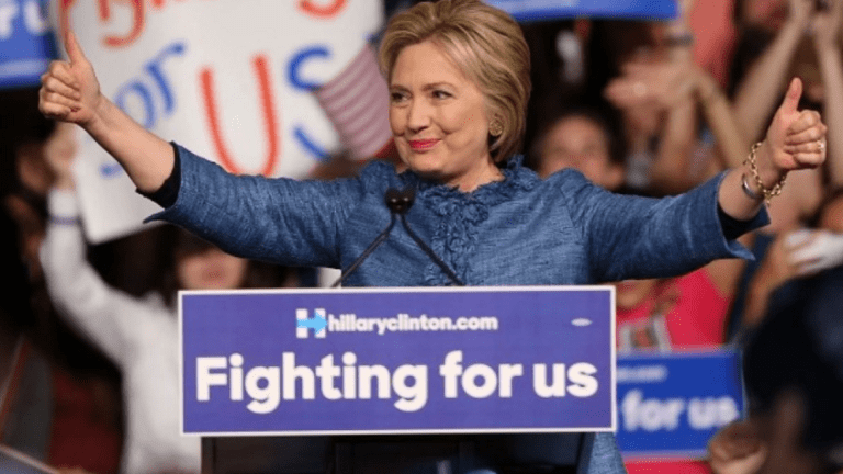 Hillary Clinton Won the Democratic Nomination Tonight