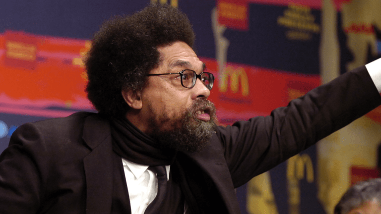 Cornel West Doesn't Deserve a Say in the Democratic Party Platform
