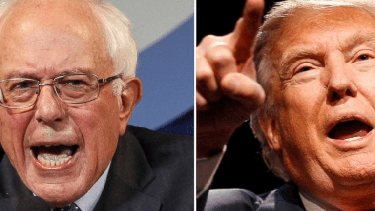Bernie vs. Trump: The Batsh*t Political Fringes Finally Come Together