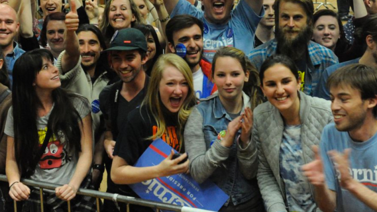 Surprise: Bernie Sanders's Youth Revolution Loved Rallies More Than Actually Voting