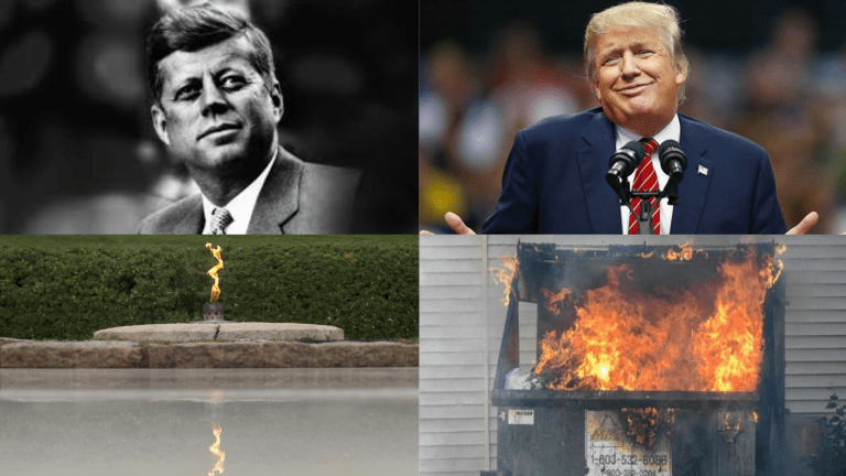 Trump Gravesite Will Feature 'Eternal Dumpster Fire'
