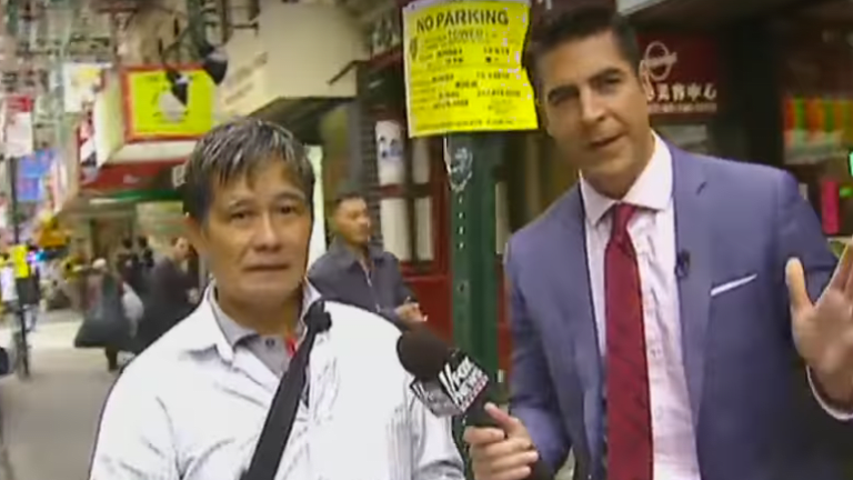 Surprise, Fox News Sends Douchebag Jesse Watters To Chinatown and the Result Is as Racist as You'd Imagine