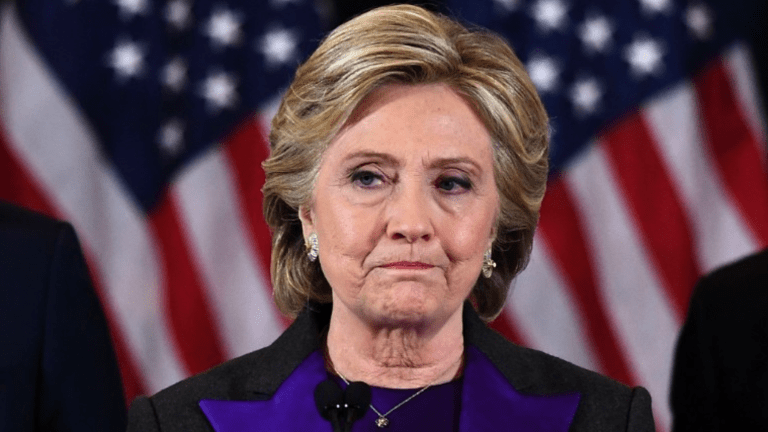 No, Hillary. President Trump Is Your Fault.