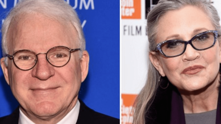 If You're Angry Over Steve Martin's Carrie Fisher Tribute, You're a F*cking Idiot