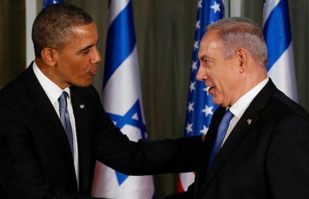 U.S. President Obama and Israel's Prime