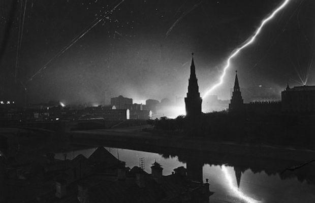 german air raid moscow 1941