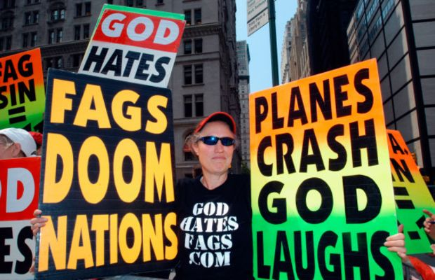 Members of the Westboro Baptist Church