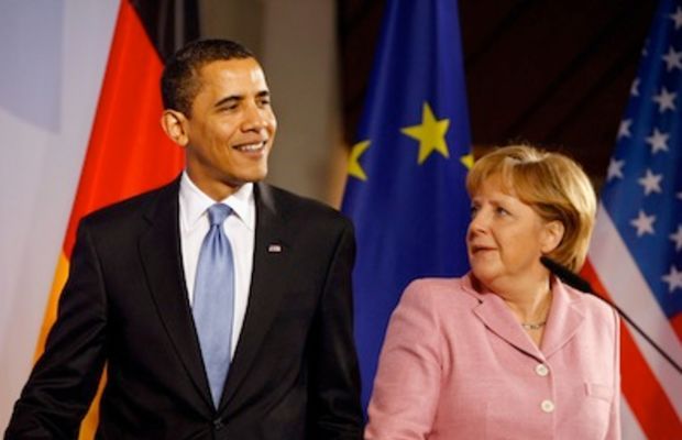 Obama:Merkel