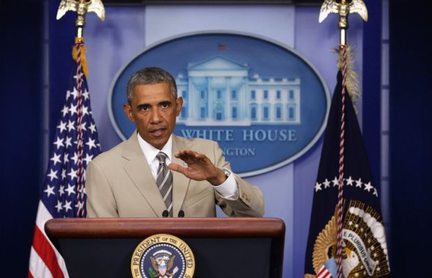 President Obama Makes Statement In The