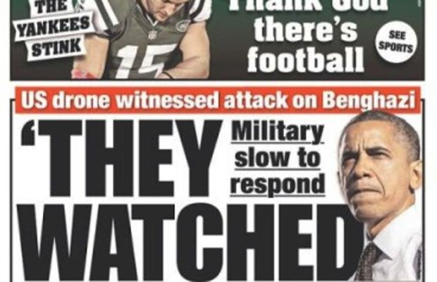 Benghazi coverup they watched them die
