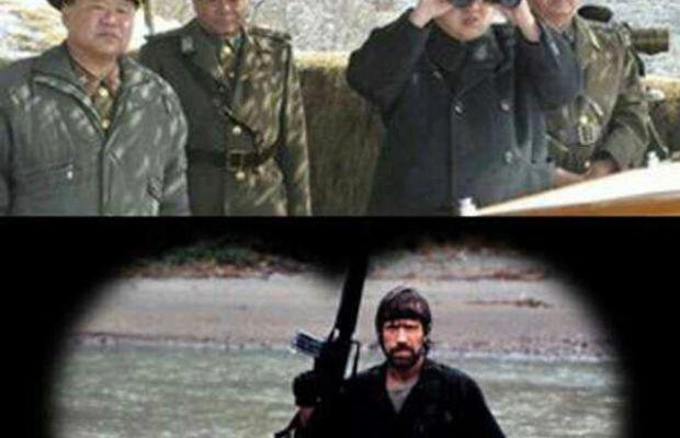 Chuck Norris north korea