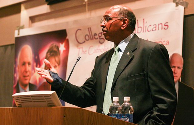 Michael Steele Speaks to College Republicans by cuatower.
