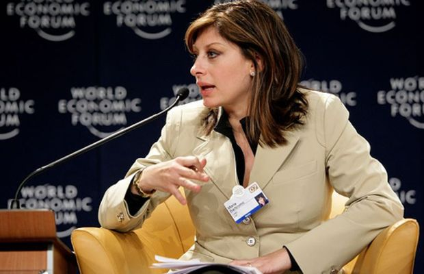 Maria Bartiromo - World Economic Forum Annual Meeting Davos 2007 by World Economic Forum.