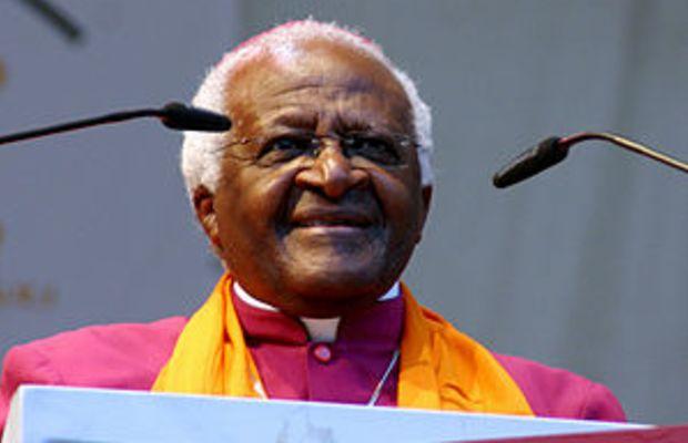Desmond Tutu 2007 at the Deutscher Evangelisch...
