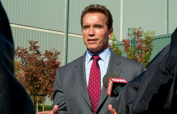 Gov. Schwarzenegger visit by llnl photos.