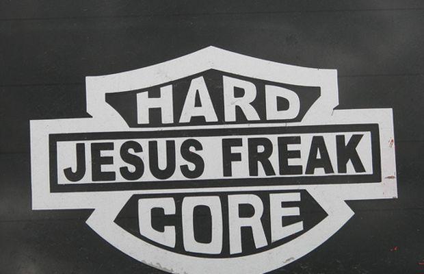 HARD CORE Jesus freak by fallacy.