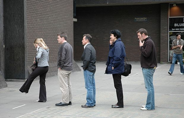 Queue by Paul Russell99.