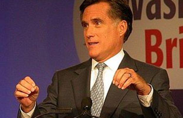 Mitt Romney in 2007 in Washington, DC at the V...