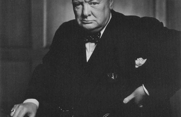 """Winston Churchill 30 December 1941"" By Yousef Karsh by monkeyc.net."