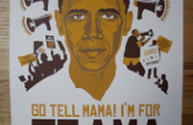 Go Tell Mama I'm Voting for Obama