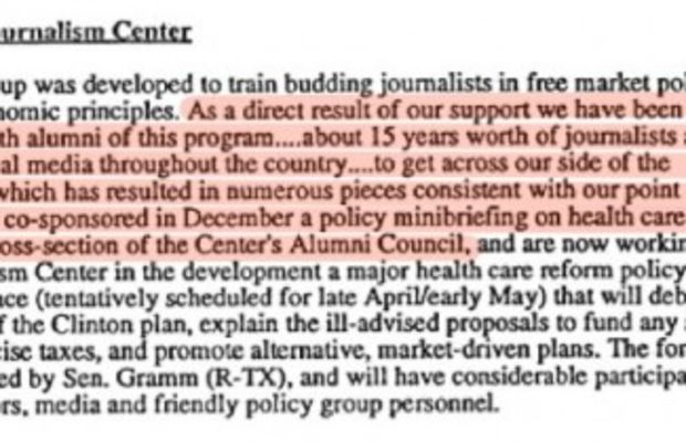 national journalism center - gladwell - tobacco - healthcare