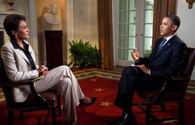 Barack Obama, Robin Roberts