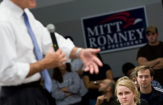 """I took this picture at the """"Ask Mitt Anyt..."""