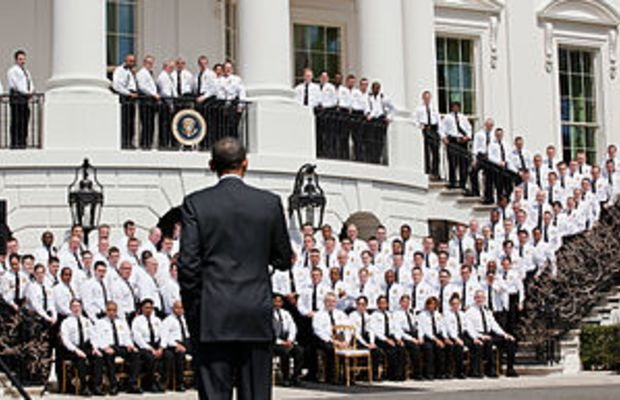 President Barack Obama addresses United States...
