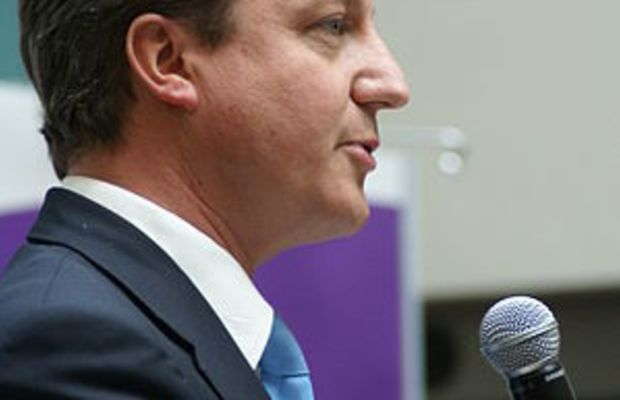 English: Prime Minister David Cameron speaking...