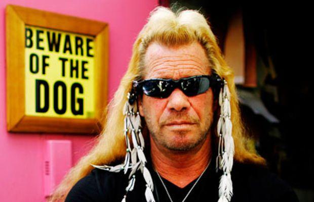 Duane 'Dog' Chapman in his office in Ho