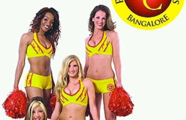 redskins cheerleaders in india