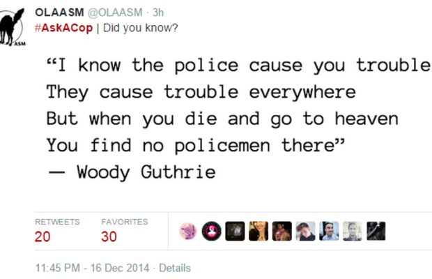 20  #AskACop - Twitter Search