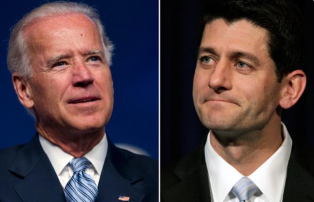 Biden vs Ryan