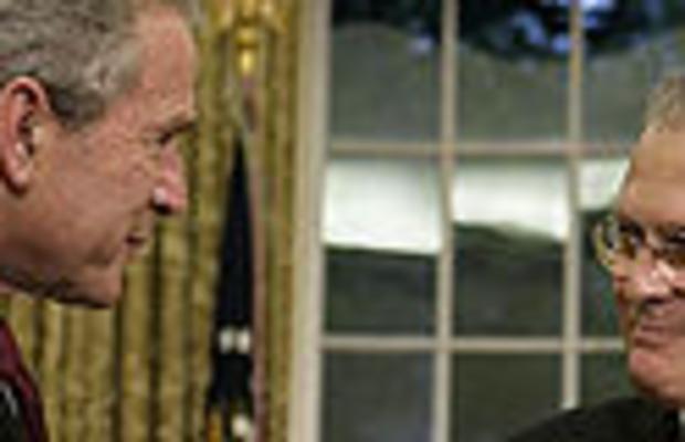Bush Rumsfeld resized