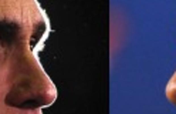 Romney vs Obama resized