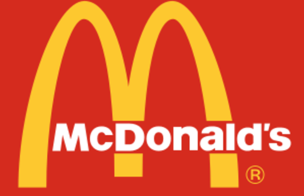 English: The mdonalds logo from the late 90s